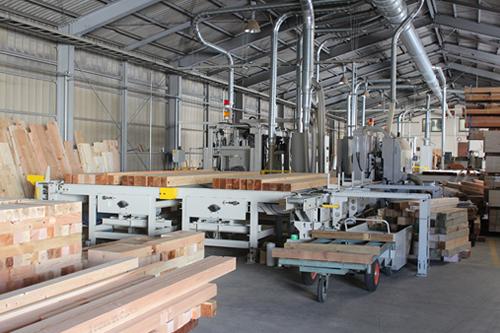 有限会社木下材木店|事業案内|プレカットの写真