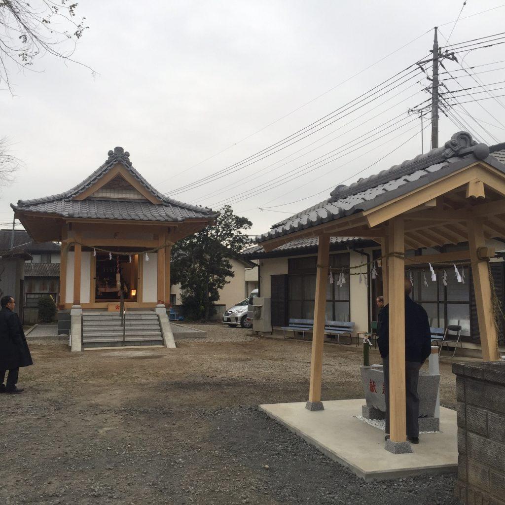 有限会社木下材木店 実績 東入西神社