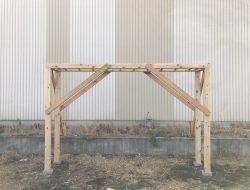 有限会社木下材木店|実績|うんていを作ってみた。