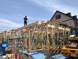 有限会社木下材木店|実績|4/26 (有)石井工務店様 S様邸新築工事上棟おめでとうございました。