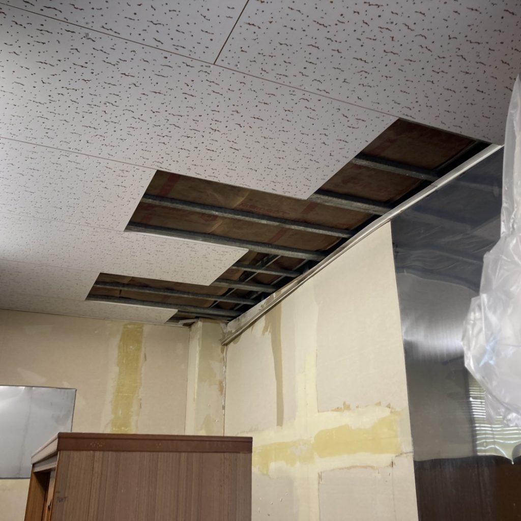 有限会社木下材木店|実績|店舗屋根掛け替え・内装工事